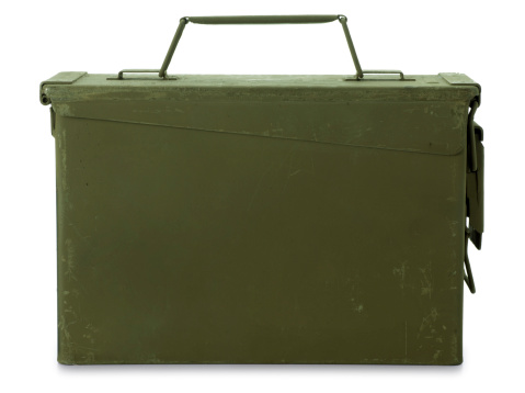 Military「Ammunition Box Isolated on White」:スマホ壁紙(19)