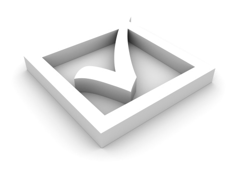 Voter Registration「White check mark」:スマホ壁紙(15)