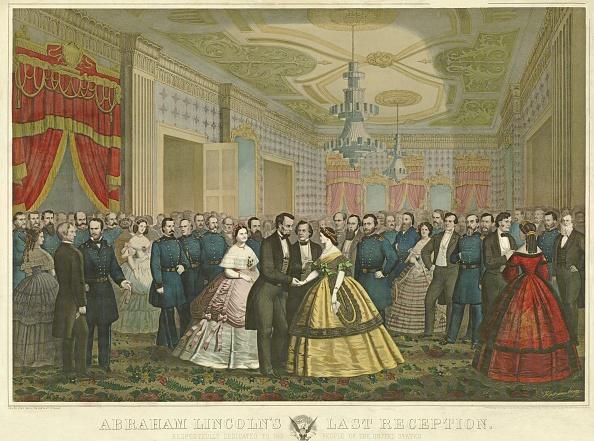 屋内「Abraham Lincoln'S Last Reception」:写真・画像(2)[壁紙.com]