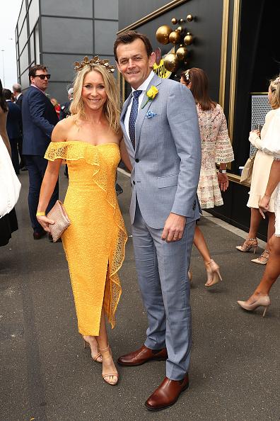 Adam Gilchrist「Celebrities Attend Melbourne Cup Day」:写真・画像(4)[壁紙.com]