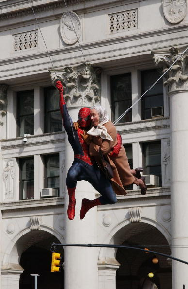 Stunt「Spider-Man Movie Set」:写真・画像(5)[壁紙.com]