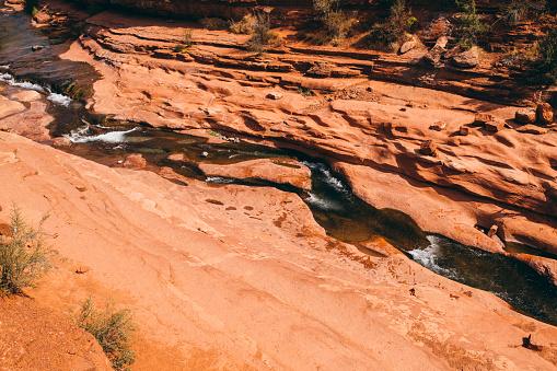 Sedona「Slide Rock State Park near Sedona in Arizona」:スマホ壁紙(15)