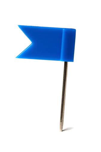 Guidance「Flag pin on white」:スマホ壁紙(3)