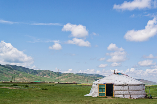 Tent「Ger in Mongolia」:スマホ壁紙(6)