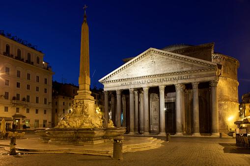 Roman「Pantheon at dawn」:スマホ壁紙(2)