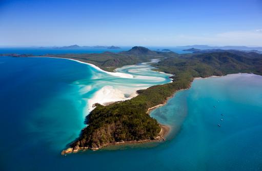 Queensland「Whitehaven Beach, Whitsunday Island, Queensland, Australia」:スマホ壁紙(8)