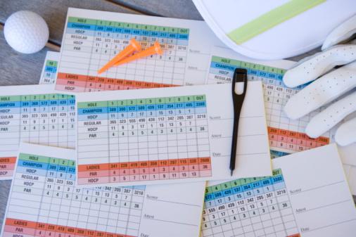 Golf Links「Scorecard on Table」:スマホ壁紙(8)