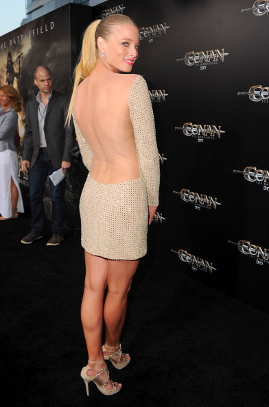 "Ponytail「Premiere Of Lionsgate Films' ""Conan The Barbarian"" - Red Carpet」:写真・画像(19)[壁紙.com]"