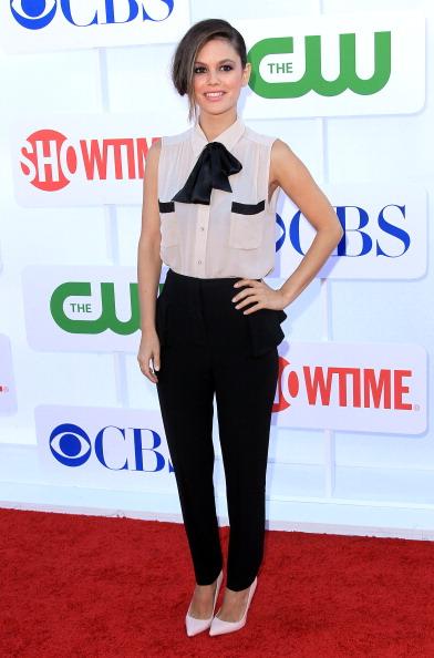 Straight leg pants「CW, CBS And Showtime 2012 Summer TCA Party - Arrivals」:写真・画像(4)[壁紙.com]