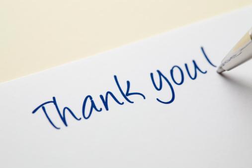 Writing「Thank you card」:スマホ壁紙(18)