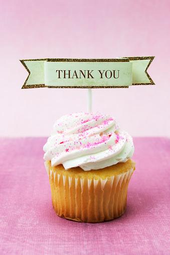 Glitter「Thank you cupcake」:スマホ壁紙(1)