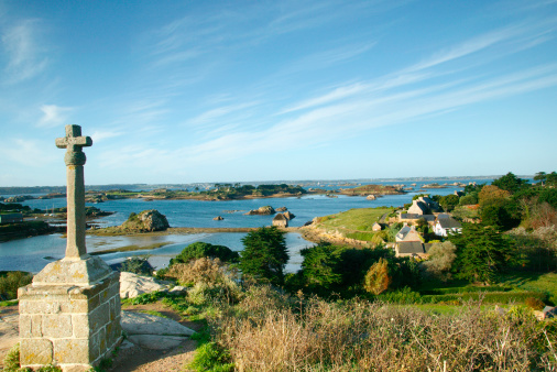 Ancient Civilization「France, Bretagne, Brittany. Brehat Island」:スマホ壁紙(11)