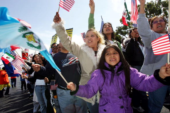 Social Issues「Protestors March Against Proposed Immigration Legislation」:写真・画像(7)[壁紙.com]