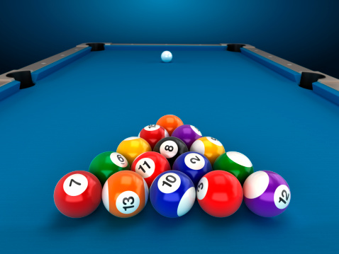 Sphere「Pool table」:スマホ壁紙(1)