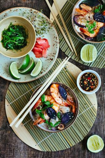 Bean Sprout「Thai rice noodles with prawn」:スマホ壁紙(10)