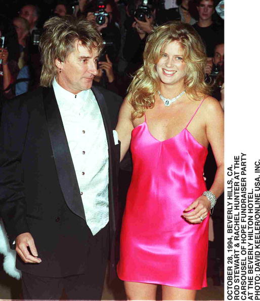 David Keeler「Rod Stewart & Wife Rachel Hunter」:写真・画像(10)[壁紙.com]