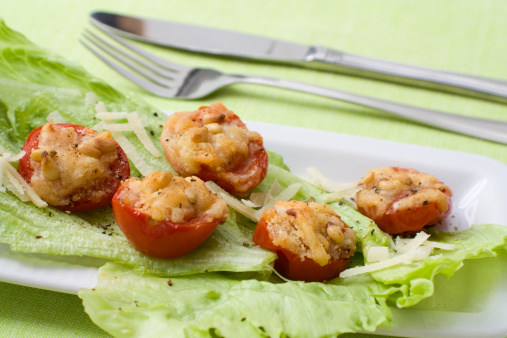 Scalloped - Pattern「Gegrillte Tomaten - Grilled Tomatoes」:スマホ壁紙(0)