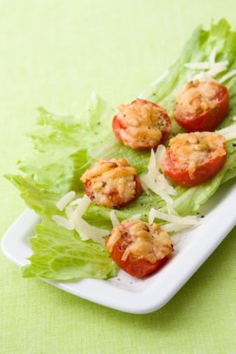 Scalloped - Pattern「Gegrillte Tomaten - Grilled Tomatoes」:スマホ壁紙(4)