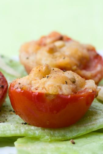 Scalloped - Pattern「Gegrillte Tomaten - Grilled Tomatoes」:スマホ壁紙(1)