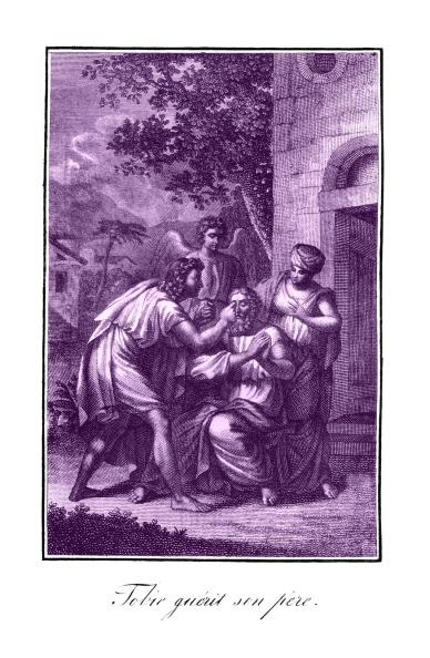 New Testament「Tobit heals his father's blindness」:写真・画像(16)[壁紙.com]