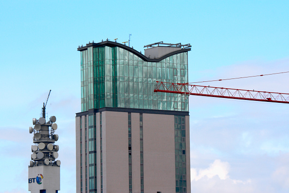 Construction Machinery「BT Tower and Tower block, Birmingham, UK」:写真・画像(15)[壁紙.com]