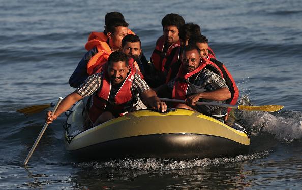 Mediterranean Sea「Migrants Begin Their Journey Through Europe In Kos」:写真・画像(9)[壁紙.com]
