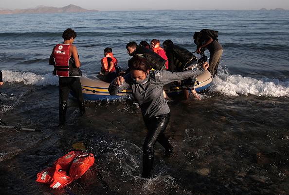 Mediterranean Sea「Migrants Begin Their Journey Through Europe In Kos」:写真・画像(7)[壁紙.com]