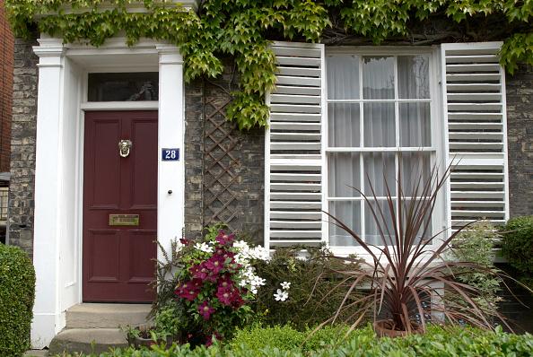 Front Door「Georgian house, front door and window, Suffolk, UK」:写真・画像(13)[壁紙.com]