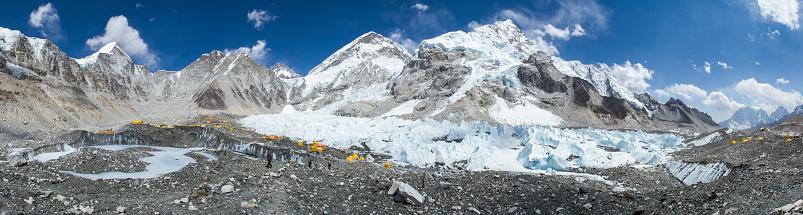 Khumbu Glacier「Everest Base Camp in Nepal Himalayas」:スマホ壁紙(9)