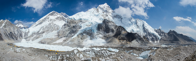 Khumbu Glacier「Everest Base Camp in Nepal Himalayas」:スマホ壁紙(16)