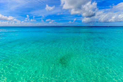 Water Surface「Crystal clear water of Barbados」:スマホ壁紙(9)