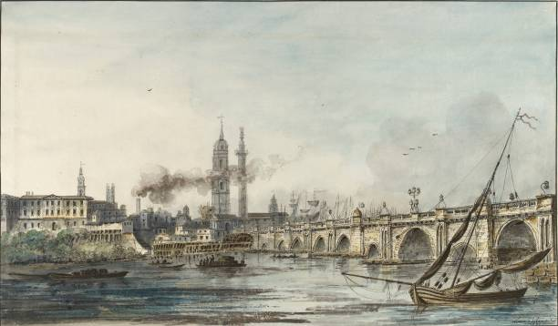 View Across The Thames Towards The Church Of St Magnus And The Monument:ニュース(壁紙.com)