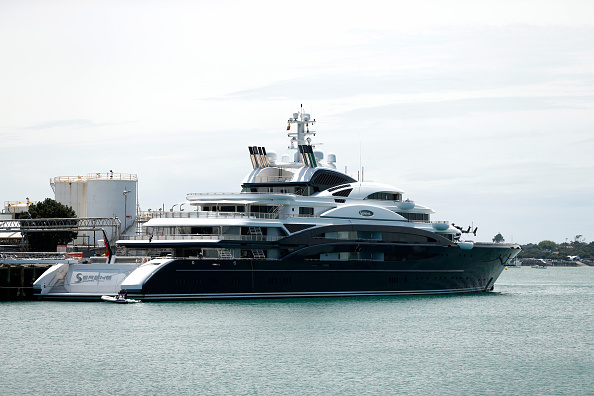 Tranquility「Superyacht Arrives In New Zealand」:写真・画像(1)[壁紙.com]