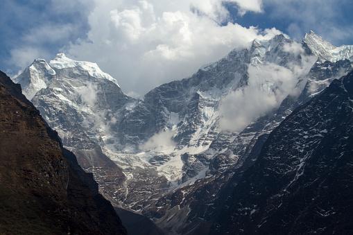 Khumbu「Mount Thamserku in Nepal Himalayas」:スマホ壁紙(0)