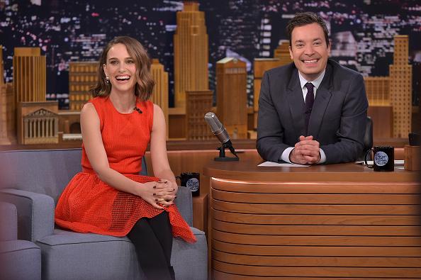 "Scalloped - Pattern「Natalie Portman Visits ""The Tonight Show Starring Jimmy Fallon""」:写真・画像(8)[壁紙.com]"