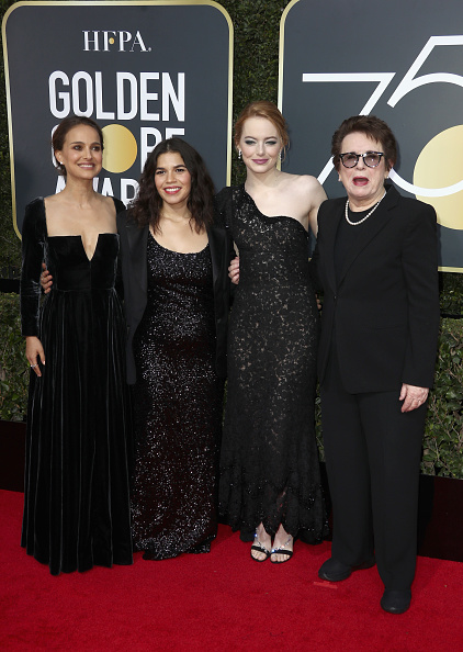 Emma Stone「75th Annual Golden Globe Awards - Arrivals」:写真・画像(18)[壁紙.com]