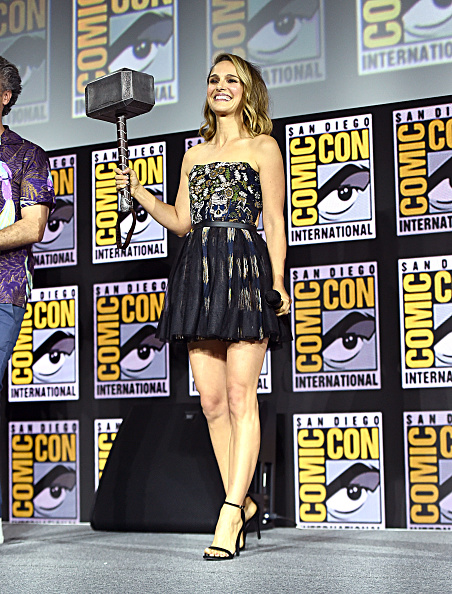 Natalie Portman「Marvel Studios Hall H Panel」:写真・画像(0)[壁紙.com]