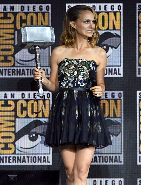 Natalie Portman「2019 Comic-Con International - Marvel Studios Panel」:写真・画像(15)[壁紙.com]