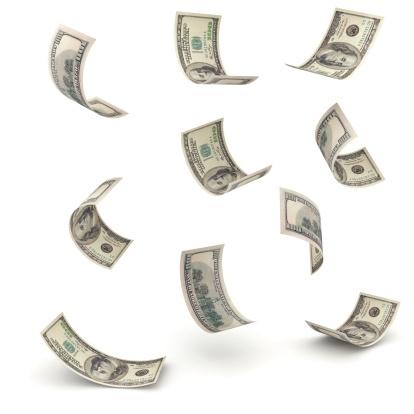 Paying「Falling Money」:スマホ壁紙(5)