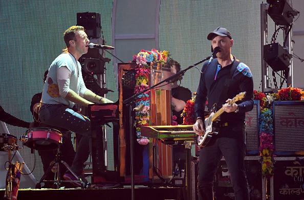 Coldplay「2017 iHeartRadio Music Festival - Night 1 - Show」:写真・画像(15)[壁紙.com]