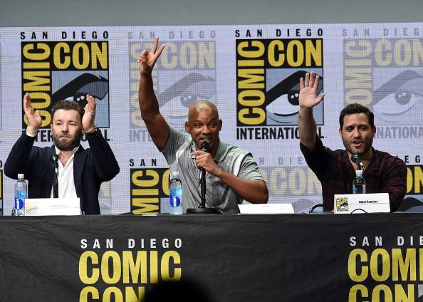 俳優 ウィル・スミス「Comic-Con International 2017 - Netflix Films: 'Bright' And 'Death Note' Panel」:写真・画像(2)[壁紙.com]