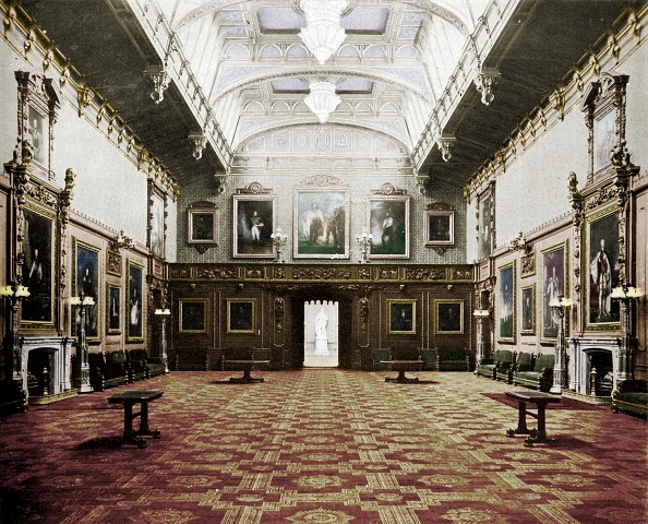 Domestic Room「The Waterloo Chamber Windsor Castle」:写真・画像(14)[壁紙.com]