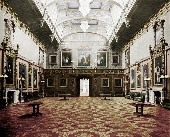 Dining Room「The Waterloo Chamber Windsor Castle」:写真・画像(9)[壁紙.com]