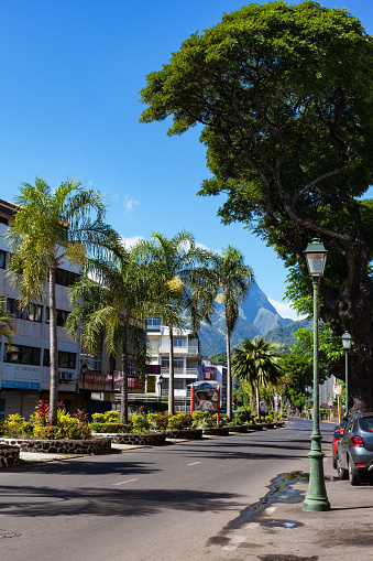 One Person「Downtown Papeete, Tahiti, French Polynesia」:スマホ壁紙(12)