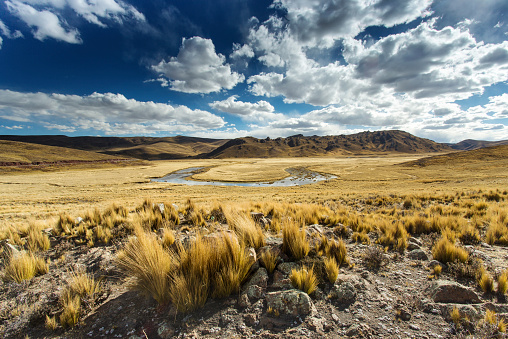 Steppe「Bolivia, Landscape between Arequipa and Lake Titicaca」:スマホ壁紙(14)