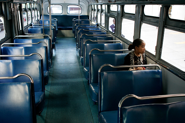 Bus「President Bush Attends Memorial Service For Rosa Parks」:写真・画像(15)[壁紙.com]