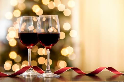 Christmas Decoration「Christmas Wine」:スマホ壁紙(5)