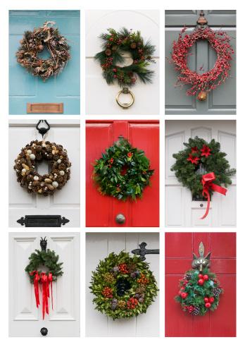 Number 9「Christmas Wreaths」:スマホ壁紙(3)