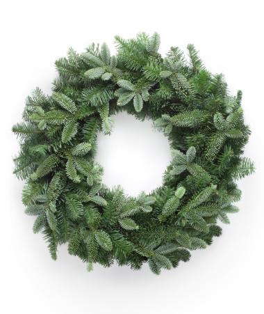 リース「クリスマスのリース」:スマホ壁紙(13)