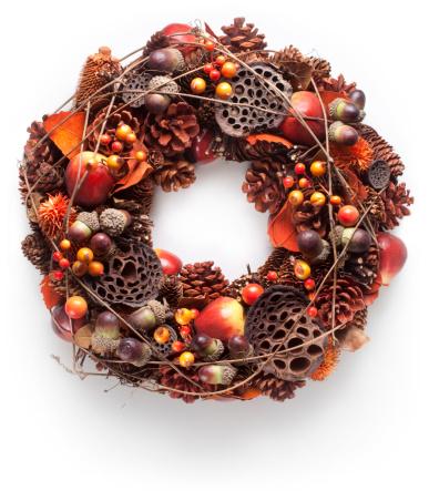 Pine Cone「Christmas wreath」:スマホ壁紙(15)